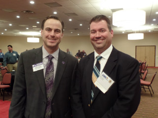 APWA Spring Conference 2015 022 John Currie and Jeff Lackey.JPG